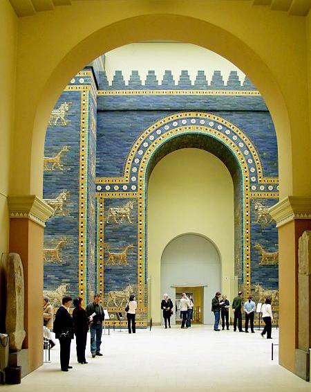 foto da Porta de Ishtar